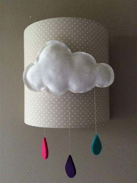 applique enfant nuage original pour decoration de chambre