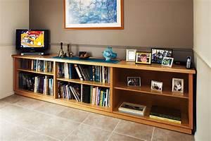 Low-line Bookshelf Australian Handyman Magazine