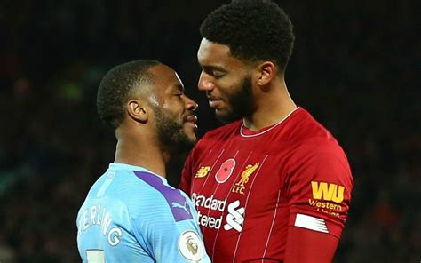 sterling man city form  row  liverpools gomez