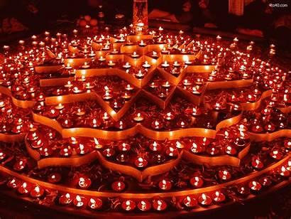 Festival Hindu Worship Divali Piercing Lights Diwali