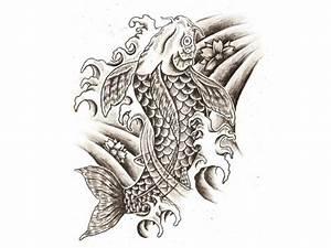 Koi Karpfen Preis : kleines herz tattoo preis koi karpfen fisch tattoo vorlage design japanischer stil tattoo art ~ Orissabook.com Haus und Dekorationen