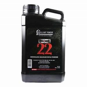 Alliant Reloder 22 Smokeless Magnum Rifle Reloading Powder