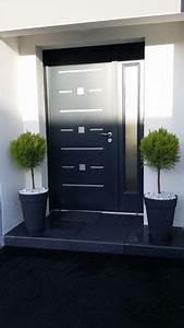 entree avec pavee bitume bientot chez nous a congalic With porte d entrée alu avec rampe lumineuse salle de bain