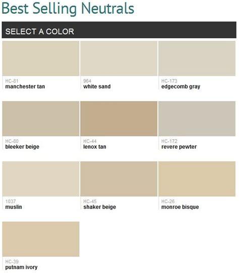 benjamin moore neutrals muslin edgecomb gray paint