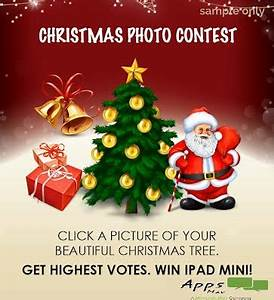 Celebrate Christmas with Great Contest
