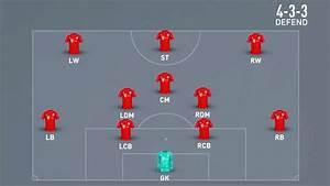 4-3-3 Defend Formation - Fifa 20