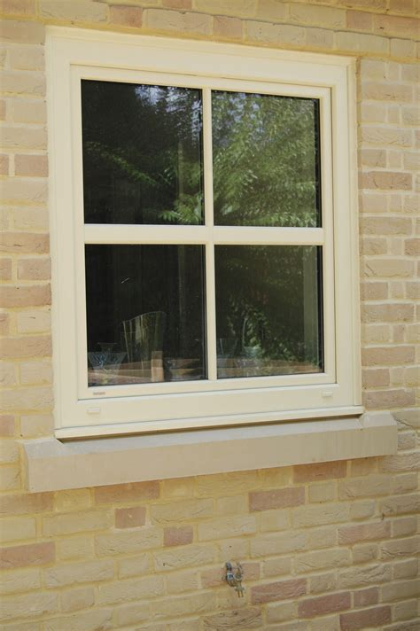 Upvc Window Ledge by Kf200 Upvc Aluminium Clad Windows Specified In Ral1015 And