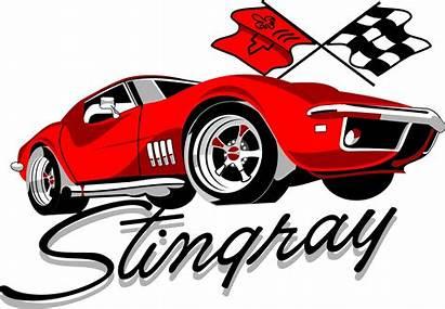 Corvette Stingray Clipart Silhouette Clip C3 Classic