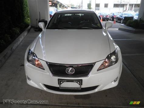 white lexus is 250 2008 2008 lexus is 250 awd in starfire white pearl photo 2