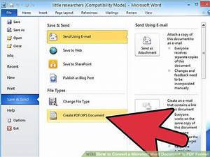 7 ways to convert a microsoft word document to pdf format With pdf v word documents