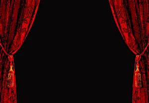 black curtain wallpaper wallpapersafari With red and white curtain background