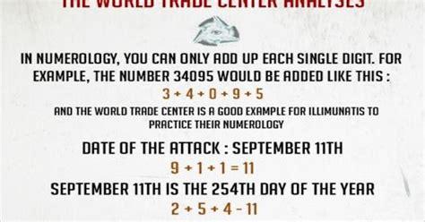 Illuminati Numerology Anonymous Of Revolution Illuminati Numerology Wtc