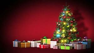 Stock video of beautiful christmas tree with gifts and ...