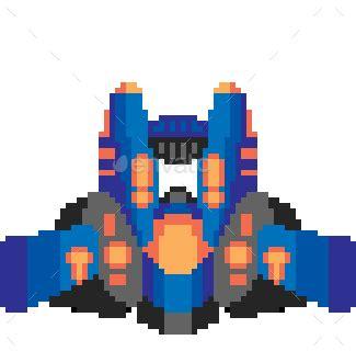 twelve pixel art ships  mii design graphicriver
