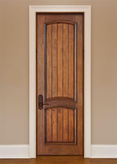 interior door custom single solid wood  custom
