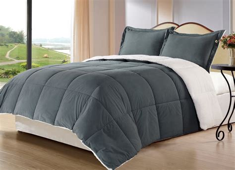 Bedding For by Total Fab Charcoal Grey Comforter Bedding Sets