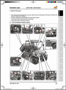 Kioti Mechron 2200 Utv Service Repair Workshop Manual On A