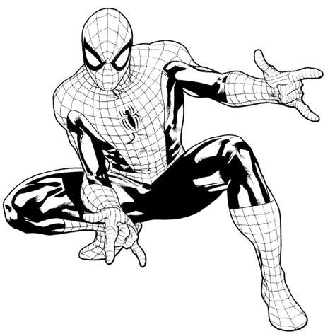 disegni da colorare uomo ragno gratis sta disegno di l uomo ragno da colorare