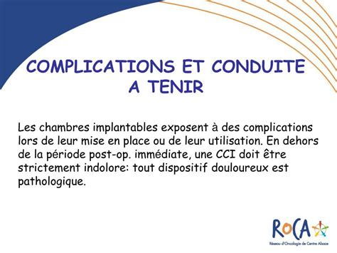chambres implantables ppt les chambres a catheter implantables cci