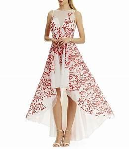 Dressing New York : nicole miller new york embroidered mesh hi low dress dillards ~ Dallasstarsshop.com Idées de Décoration