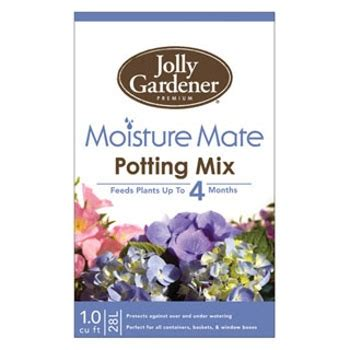 Jolly Gardener by Jolly Gardener Moisture Mate Potting Mix With Food 1 Cu