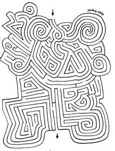 Printable Labyrinth Maze