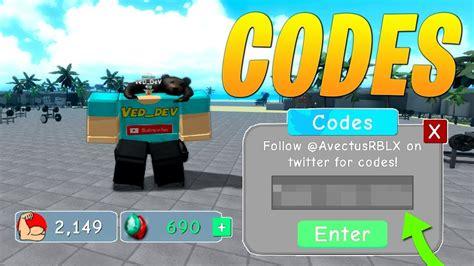 codes  weight lifting simulator  roblox