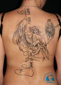 Ecriture Tatouage Femme : mod le de tatouage de femme dans le dos graphicaderme ~ Melissatoandfro.com Idées de Décoration