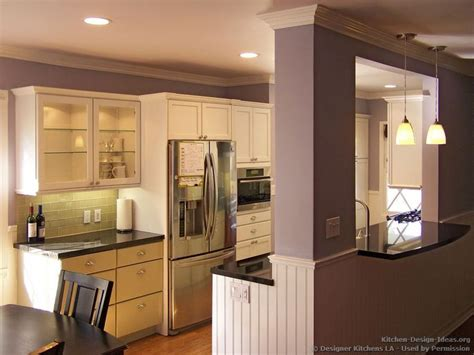 kitchen wall cut out designs pass through window with bar green and white kitchen 8704