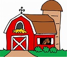 Little Red Barn Clipart - Free Clip Art