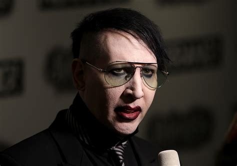 Marilyn Manson Will Not Rock The Vote Stereogum
