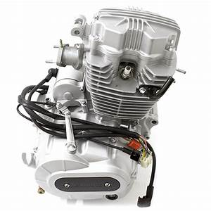 125cc Motorcycle Engine 157fmi With Lexmoto Logo For Ht125
