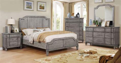 ganymede cm bedroom  rustic weathered gray woptions