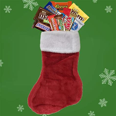 Buy little christmas stocking candies with free shipping! Amazon.com : Christmas Stockings Filled with 2lbs Bulk Variety Chocolate Candy, Stocking ...