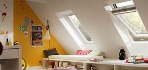 Dachausbau Mit Fenster : kinderzimmer unterm dach dachausbau mit velux ~ Lizthompson.info Haus und Dekorationen