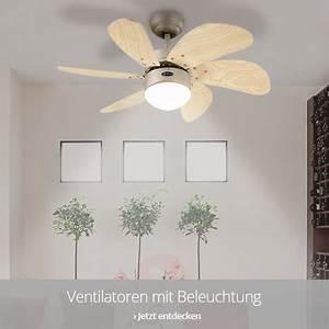 Deckenventilatoren Mit Beleuchtung : deckenventilatoren online kaufen ~ Whattoseeinmadrid.com Haus und Dekorationen