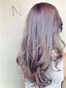 Lauren Conrad Inspired Smokey Lavender Hair Extensions