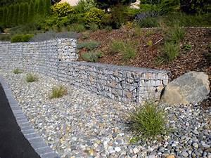 Mur De Soutenement En Gabion : produit du mois gabion sout nement muret b ton ~ Melissatoandfro.com Idées de Décoration