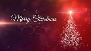 Merry Christmas Tree - Animated Background Loop ...  Merry