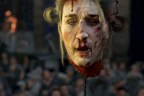 severed heads  women presenters