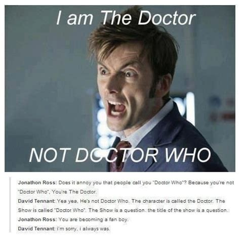 David Fanboy Doctor Who Pinterest
