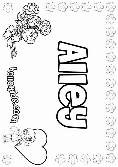 Coloring Pages Personalized Names Cool Own Printable