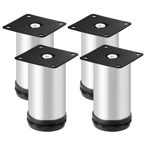 adjustable kitchen cabinet legs 4pcs stainless steel durable furniture kitchen cabinet leg 3994