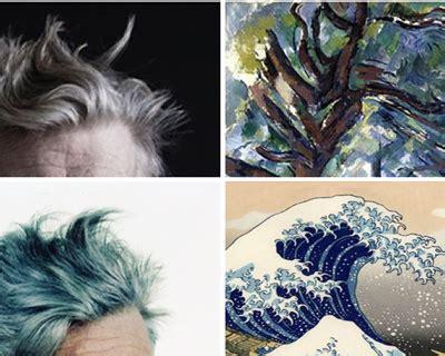 david lynchs hair   fine art equivalent