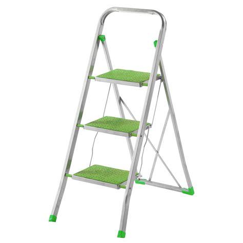 scaletta sgabello sgabello scaletta richiudibile 3 gradini acciaio 150 kg