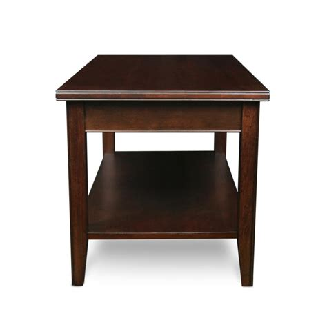 Amazon.com   Leick Laurent Condo/Apartment Coffee Table   Cherry Wood Coffee Table