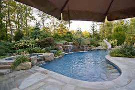 Luxury In Ground Swimming Pool And Patio Design Ideas And Installation Ideas Pool Inground Pool Designs For Concrete Pools Home Swimming Pool Backyard Pools Small Backyard Pools Ideas 2016 Get Inspired By Original Designs For Small Backyards