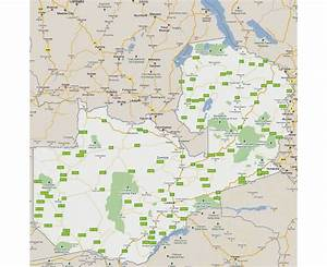 Maps of Zambia | Detailed map of Zambia in English ...