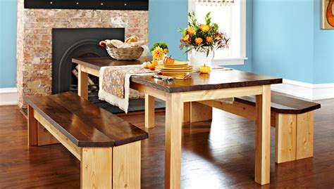 build kitchen table bench plans plans woodworking