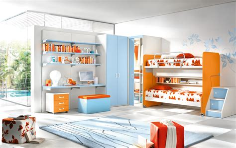 Contemporary Kids Room Interior Design Ideas